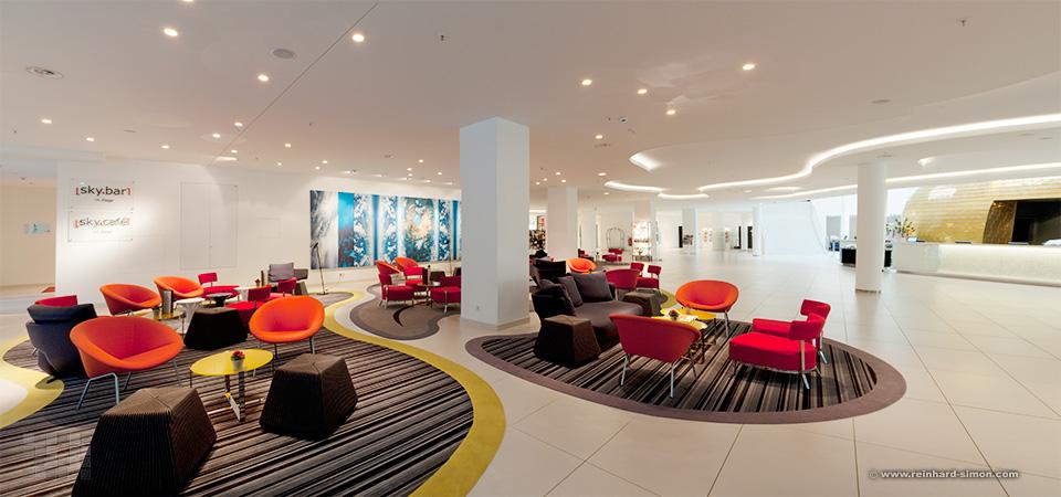 Lounge des Hotel Andels in Berlin