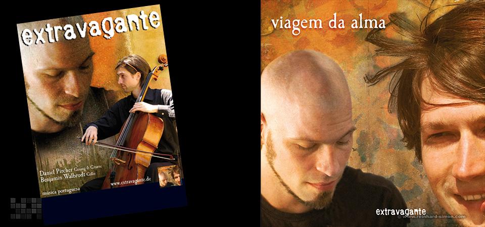 """Die CD von Extravagante """"viagem da alma"""""""