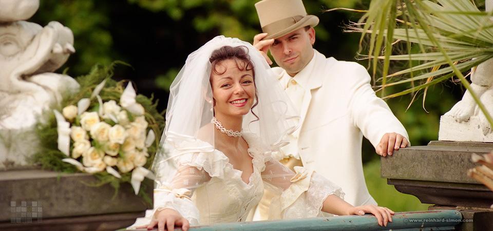 Hochzeitsbilder von Reinhard Simon, Familie Falco