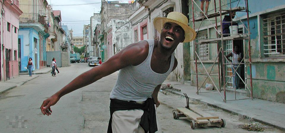 Model aus und in Kuba