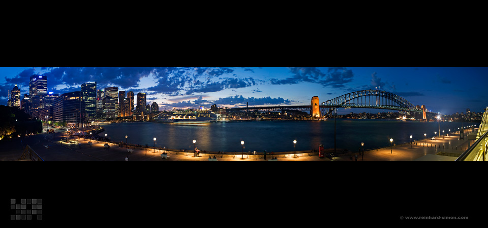 Panorma aus Sidney, Harbour Bridge