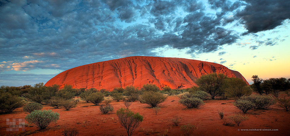 Uluru, Ayers Rock in Australien