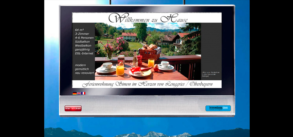 Screenshot der Webseite fw-simon.de